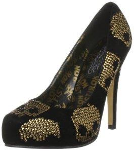 Iron Fist Goldstar Pointed Toe Platform Shoe