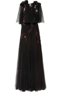 Gucci Sequinned Tulle Gown